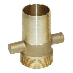 Male Brass Hosetail (BSP Thread)