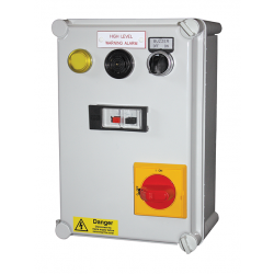 Standard motor starter for pump or motor