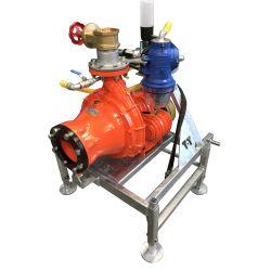 Cri-Man PTH high pressure centrifugal chopper pump on T-T frame