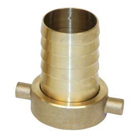 Female Brass Hosetail (BSP Thread)