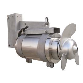 Stainless Steel Submersible Horizontal Mixers