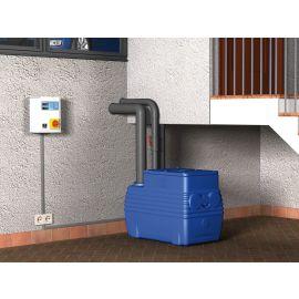 Blue box lifting station installation example