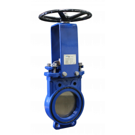 Knife gate valve, DN80-DN300, bi-directional