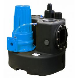 Single/Dual Grinder Pump - Above-ground pumping station