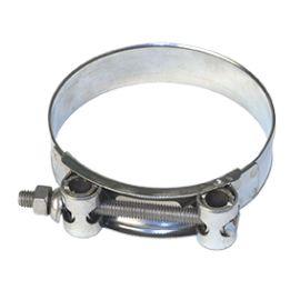Steel plated layflat hose hose band