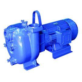 J Range surface mounted, self-priming centrifugal pump