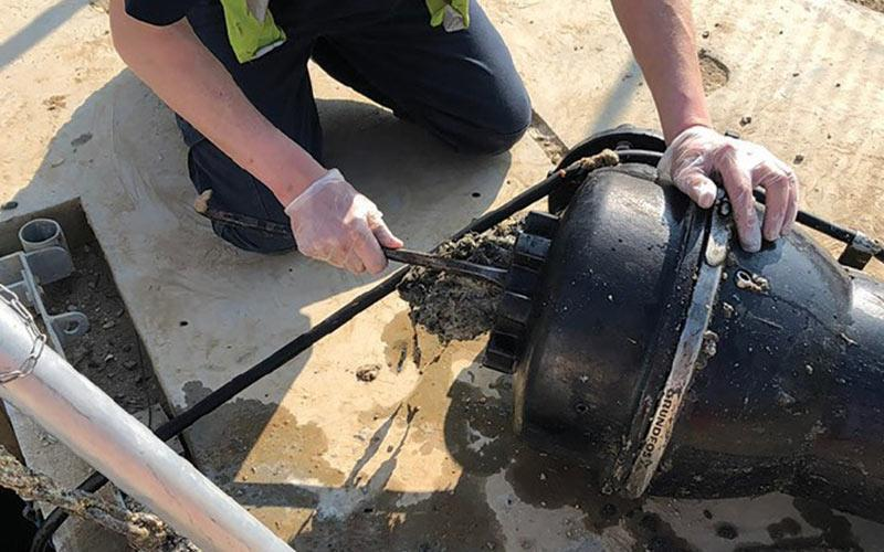 Household Wipes Challenging Sewage Pumping Stations