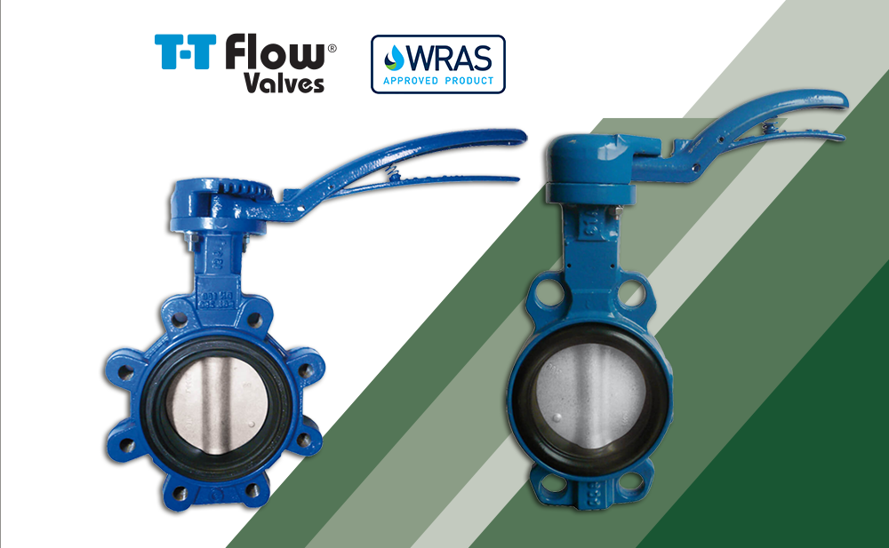 T-T Flow offer WRAS Approved Butterfly Valves