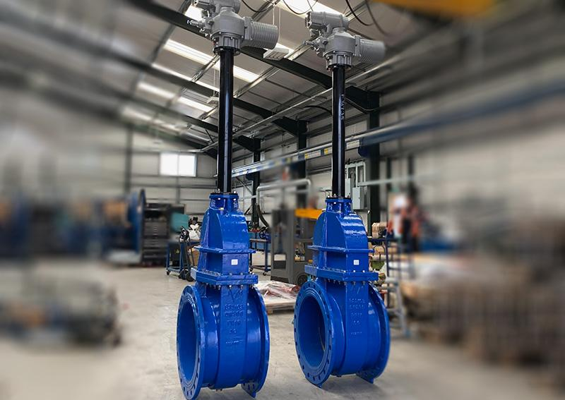 Isolating Gate Valves for Wigan Wastewater Treatment Works