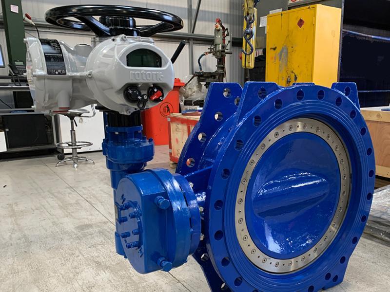 Calderdale Water Treatment Plant Valve Replacement