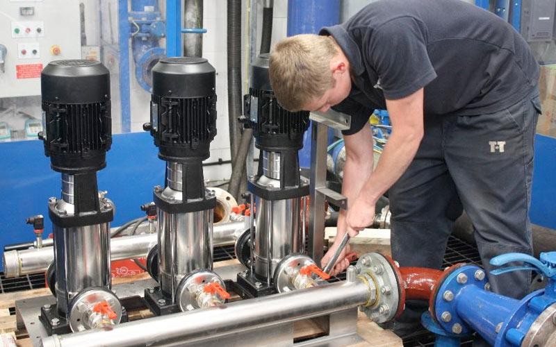 Increasing Water Pressure With Booster Sets, Great Yarmouth