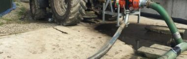T-T are exhibiting their agriculture pumps at the National Ploughing Match