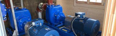 J Range Pumps & Control Panels, The Scottish Salmon Company