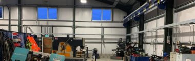 New Workshop and Upgrade to Production Facilities