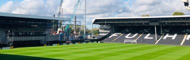 Fulham FC - Double Hinge Flap Valves for £80m Craven Cottage Redevelopment