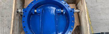 Tilting Disc Check Valves - Rhyl Marine Lake Pumping Station
